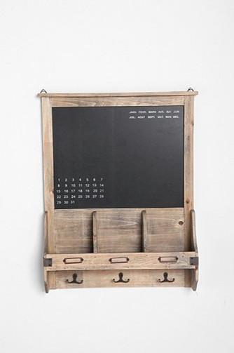 Vintage Wood Calendar Chalkboard - Traditional - Bulletin Boards And Chalkboards - by Urban ...