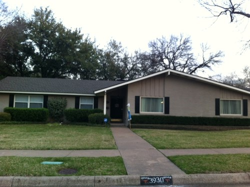 Help With Exterior Of 1960s House