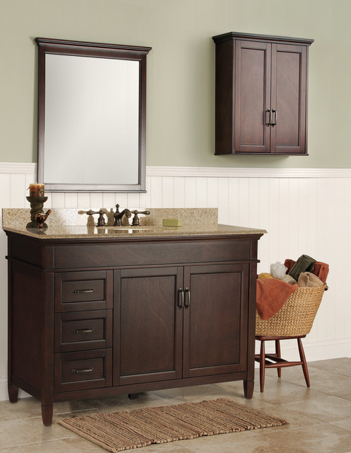 Ashburn bath vanities contemporary bathroom vanities and sink consoles by foremost for Bathroom consoles and vanities