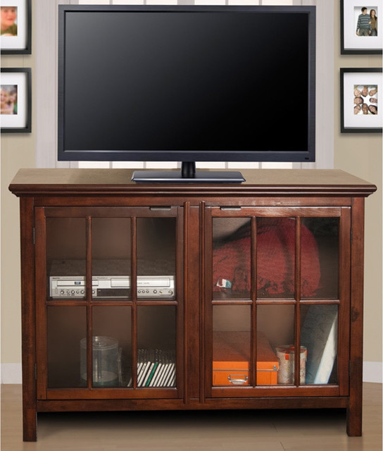 Canterbury Media Center - Contemporary - Entertainment Centers And Tv Stands - by Overstock.com