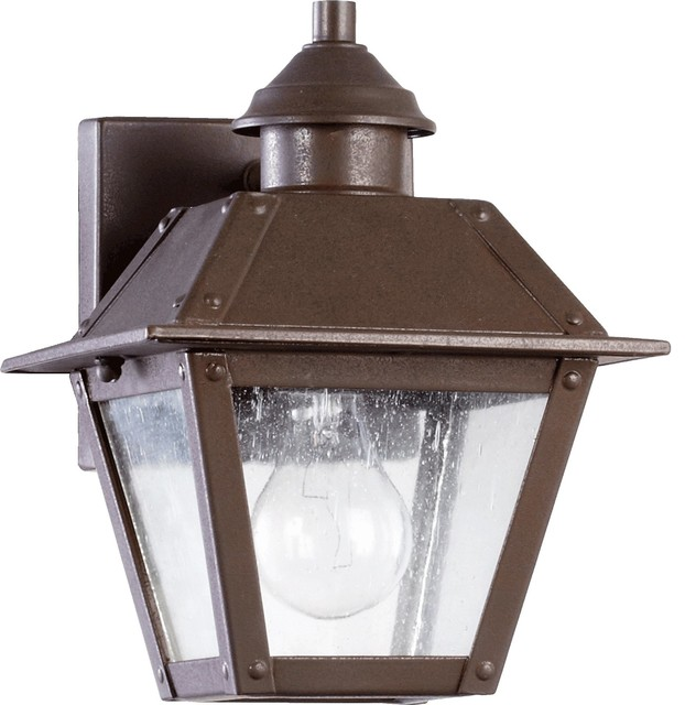 Transitional Outdoor Wall Lights : Quorum Lighting Emile Transitional Outdoor Wall Sconce X-68-4207 - Transitional - Outdoor Wall ...