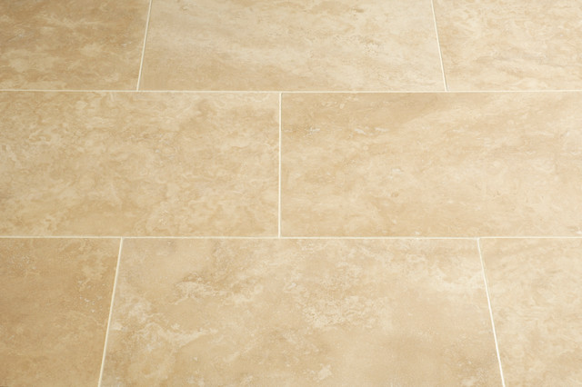 Floors of stone premium classic travertine tiles for Classic kitchen floor tile