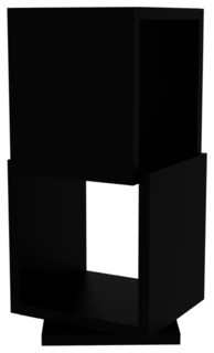 shell 2 drehregal bauhaus look regalsysteme von. Black Bedroom Furniture Sets. Home Design Ideas