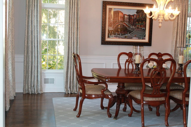 Chatham township update for Updating a traditional dining room