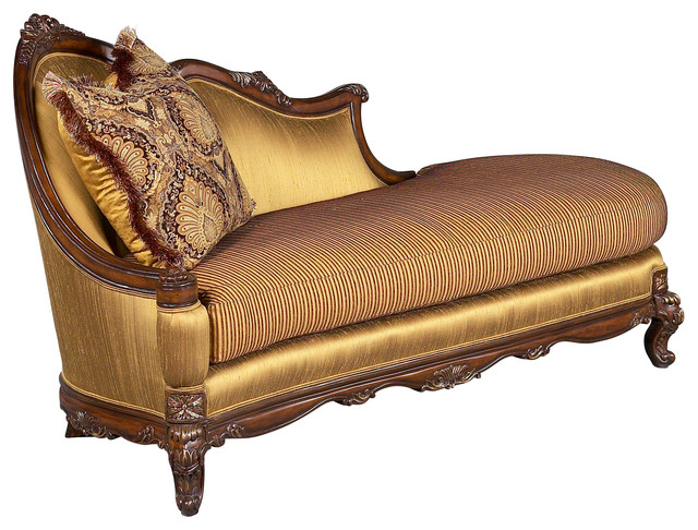 Milania Chaise Lounge Traditional Indoor Chaise Lounge