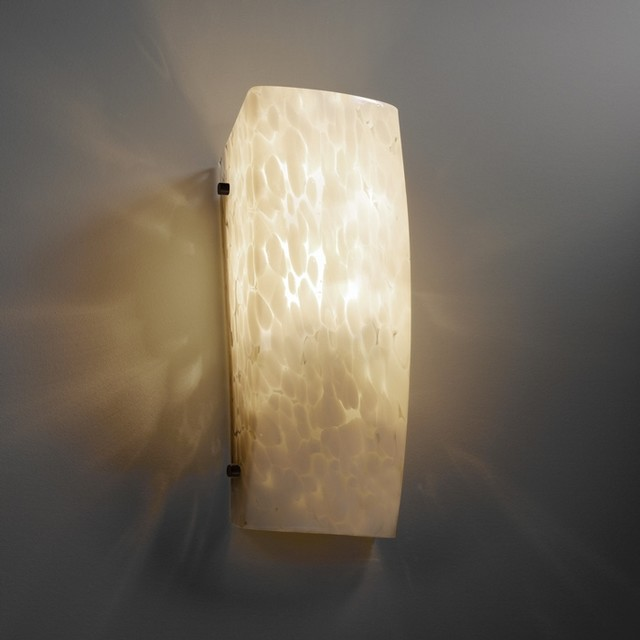 Wall Sconce Mounting Height Ada : Fusion Rectangular ADA Wall Sconce - Modern - Wall Sconces