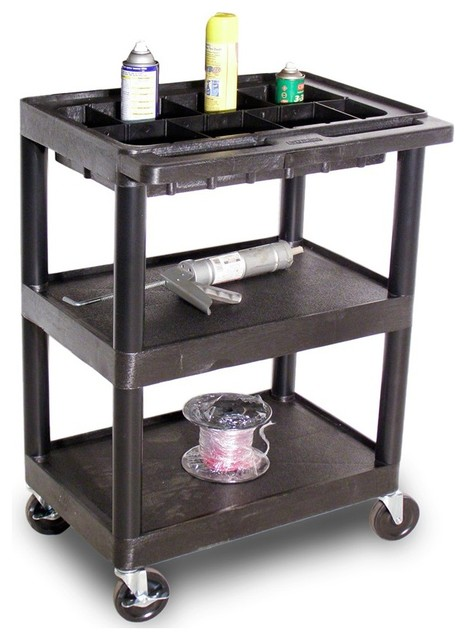 utility cart w 3 shelves contemporary kitchen islands