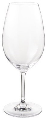 Polycarbonate thin stems red wine glasses modern everyday for Thin stem wine glasses