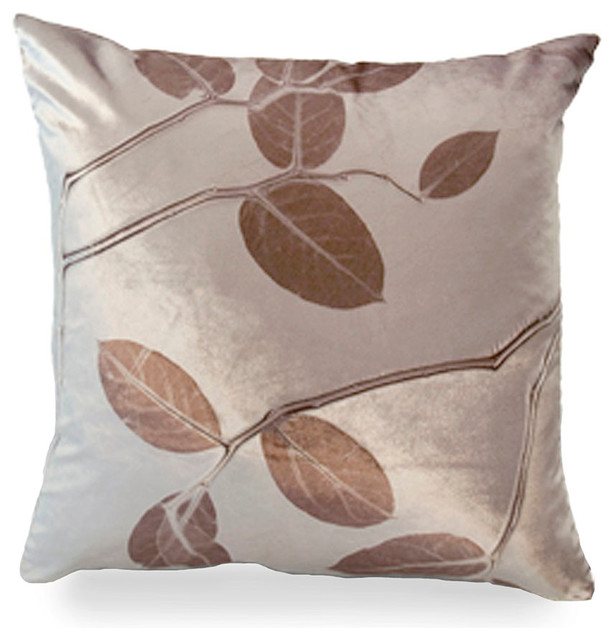 Floor Pillows Kohls : Kohl Lemon Leaf on Cobble Pillow - Transitional - Decorative Pillows - by Bliss Home and Design