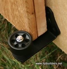 Barn Door Stay Roller Traditional Brackets