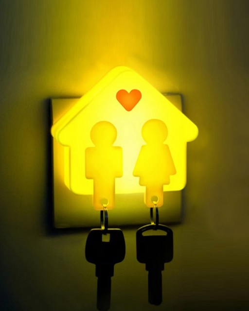 love cabin babys bedroom night light with key ring