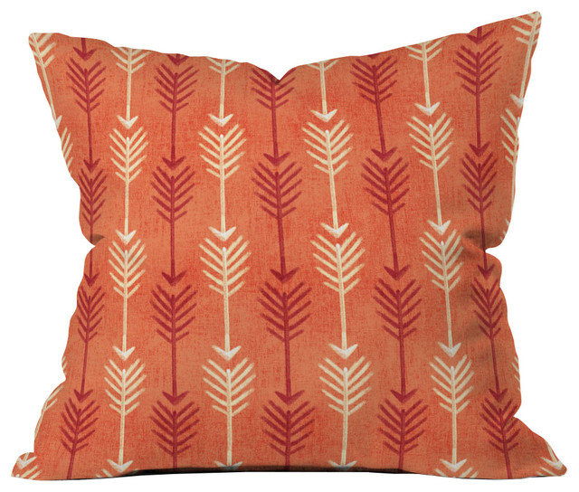 Rustic Arrow Throw Pillow - Southwestern - Decorative Pillows - by Dot & Bo