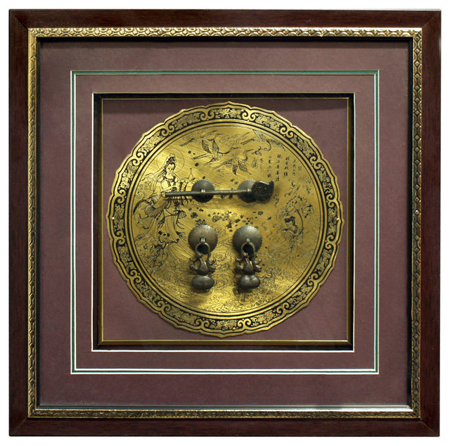 Hand-Forged Brass Hardware Shadow Box - Asian - Picture Frames - by China Furniture and Arts