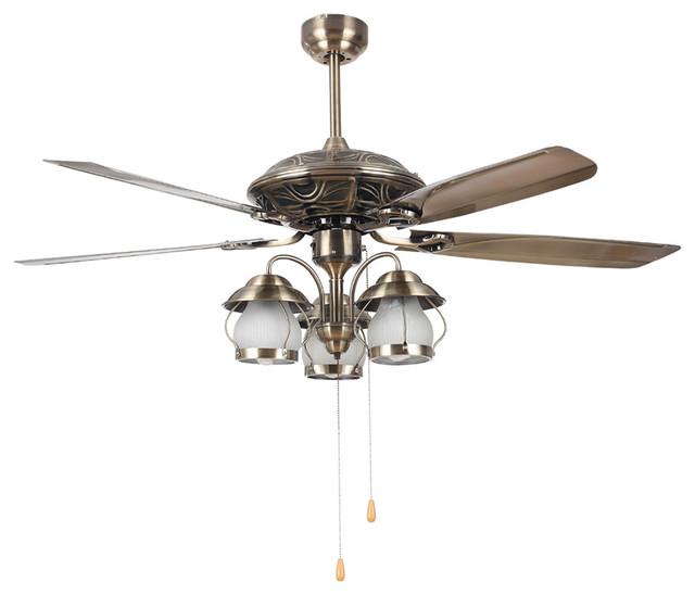 living room vintage bronze ceiling fan light 52 modern ceiling fans