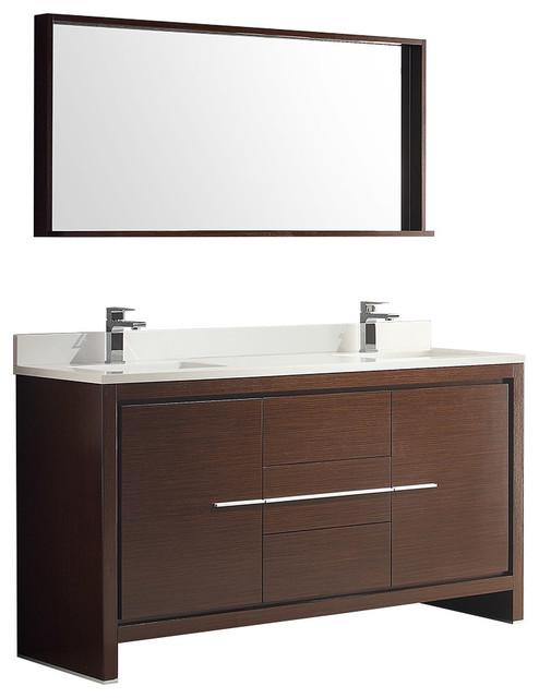 Sonix 1500 wall hung double basin vanity unit grey buy for Modern bathroom units