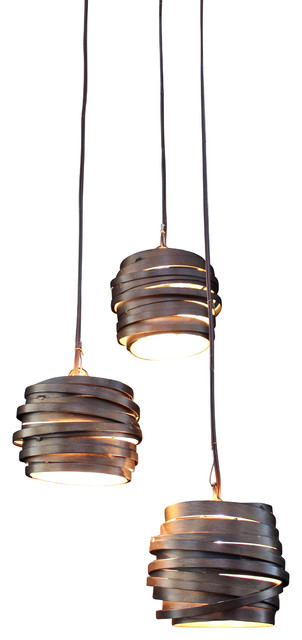 Orbit 3 Bulb Pendant Light
