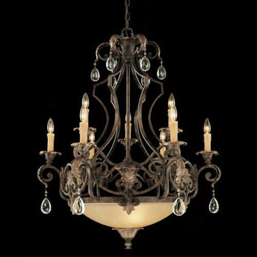 Chinquapin 9 Light Chandelier