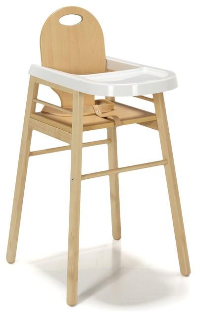 milie chaise haute pour b b combelle en h tre massif contemporain chaise haute et. Black Bedroom Furniture Sets. Home Design Ideas