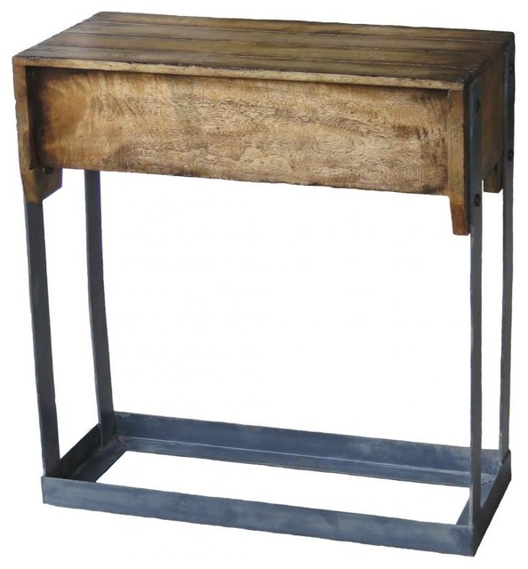 Tic Tac Table Farmhouse Console Tables by ZallZo LLC