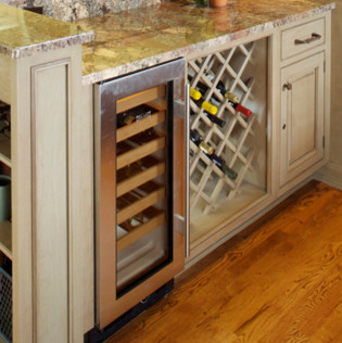 Kitchen Cabinet Accessories - Traditional - Wine Racks - by Heartwood Kitchens