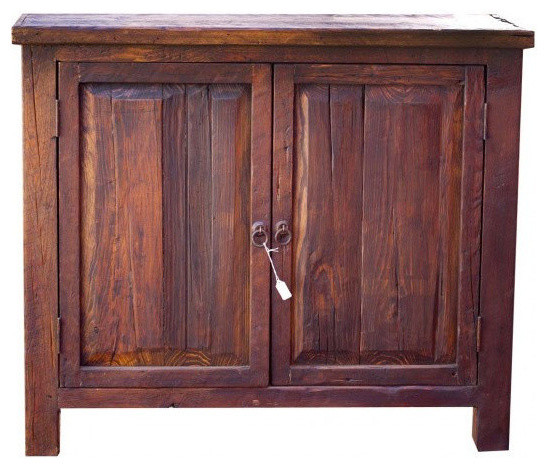 Reclaimed Wood Vanity Single Sink 36 Rustic Bathroom Vanities And Sink Consoles By