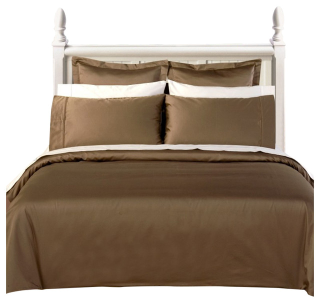 1200 Thread Count Egyptian Cotton Solid Bed Sheet Set