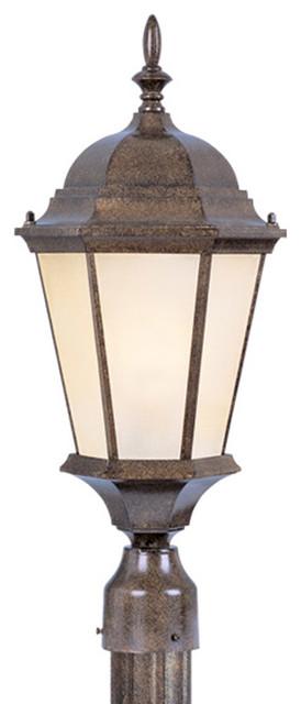 Livex Lighting 7563 50 Outdoor Lighting Post Light Contemporary Post Ligh