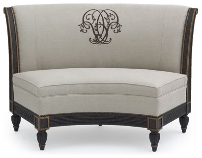Old Hickory Tannery Quot Meredith Quot Banquette Traditional