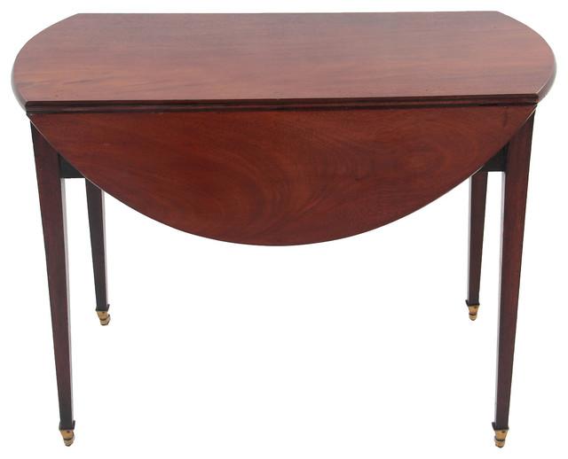 Pembroke Drop Leaf Table w Drawer Contemporary Dining  : contemporary dining tables from www.houzz.com.au size 640 x 518 jpeg 45kB