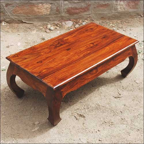 Solid Natural Rustic Wood Coffee Cocktail Sofa Table Traditional Coffee Tables Austin By