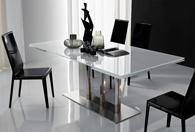 Plano Extendable Dining Table By Cattelan Italia Modern  : modern dining tables from www.houzz.com size 640 x 436 jpeg 56kB
