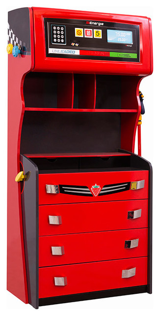 Champion Gas Pump Drawer Chest - Contemporary - Dressers - by Turbo Beds