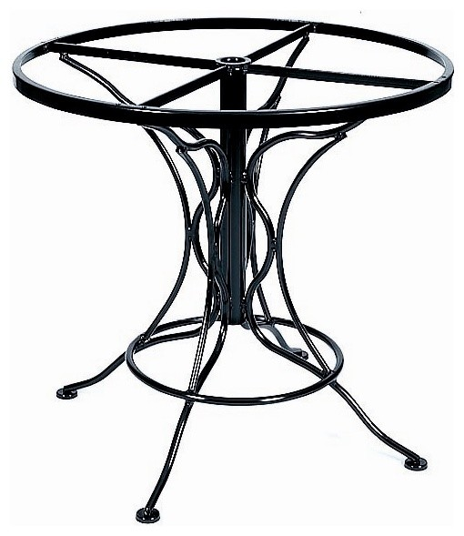 Round Dining Table Base in Wrought Iron Universal Table  : contemporary table tops and bases from houzz.co.uk size 510 x 589 jpeg 56kB