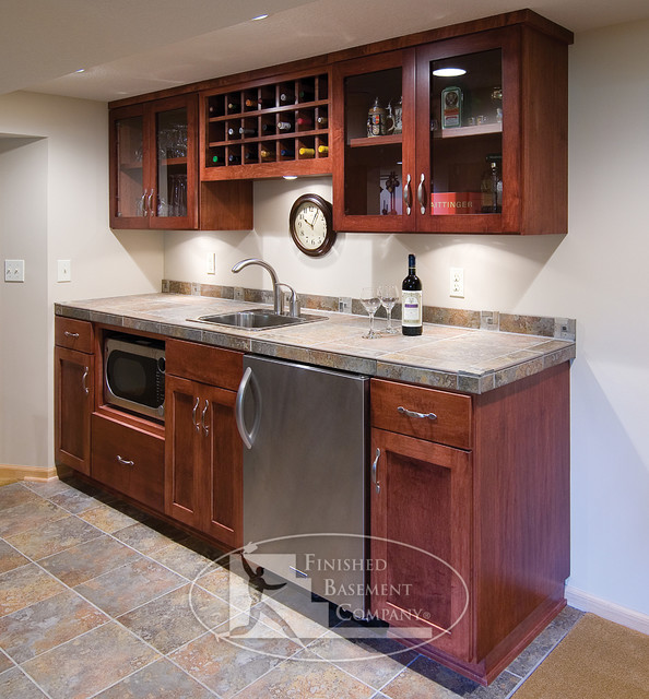 Wet Bar Ideas Gallery: Basement Walk-Up Bar