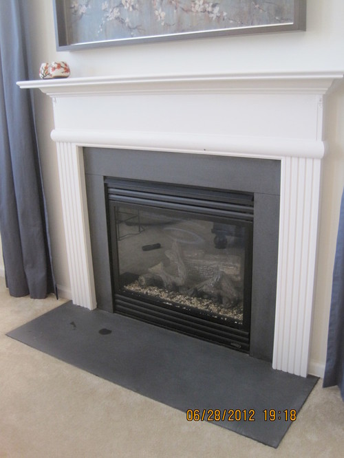 slate fireplace surround diy ideas for fireplace surround