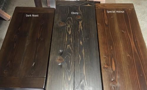 staining kitchen cabinets black