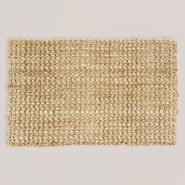 Plain Weave Jute Rug
