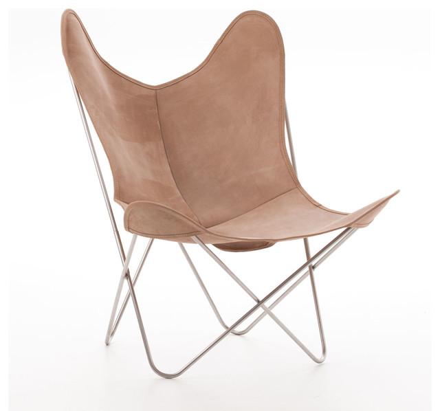 Le fauteuil aa en cuir avec une structure en inox marin 316l contemporain fauteuil other for Fauteuil salon contemporain