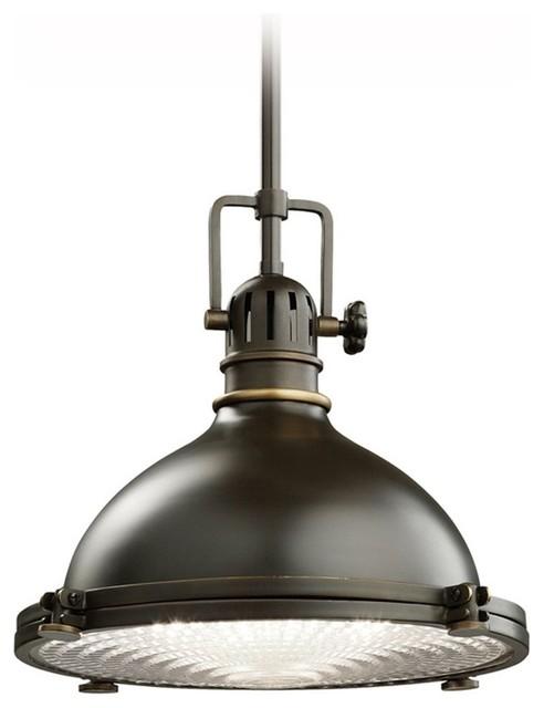 kichler nautical pendant light with fresnel glass lens. Black Bedroom Furniture Sets. Home Design Ideas