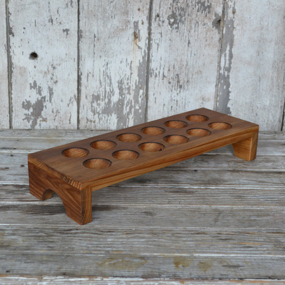 Aldermere egg tray made from reclaimed antique cypress by for Egg tray wall hanging