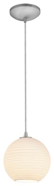 Access Lighting S Japanese Lantern Cord Glass Pendant