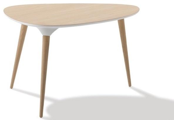 icicle table basse ronde diam tre 90 cm scandinave table basse par fredericia france. Black Bedroom Furniture Sets. Home Design Ideas