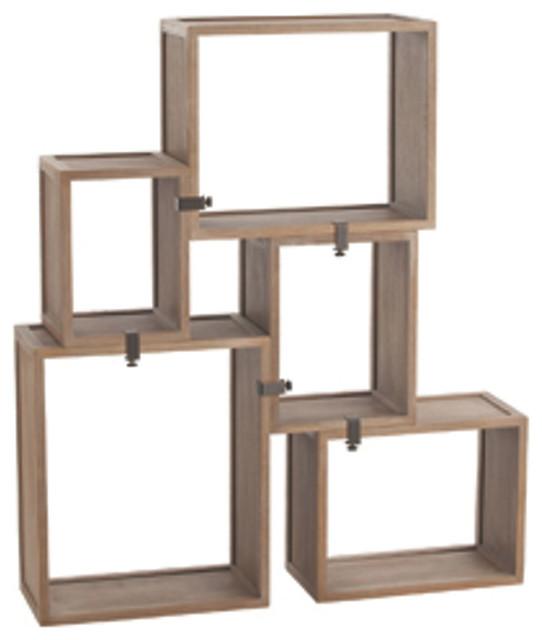 stanton bookshelf brown modern regalsysteme von one. Black Bedroom Furniture Sets. Home Design Ideas
