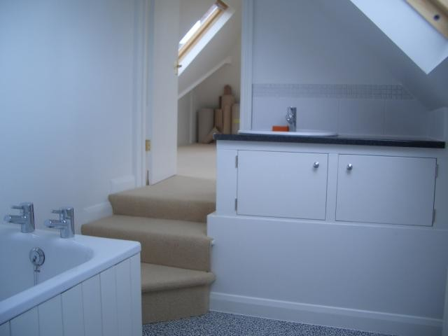 En suite designs modern bathroom south west by mpk lofts conversion construction limited Bathroom design company limited