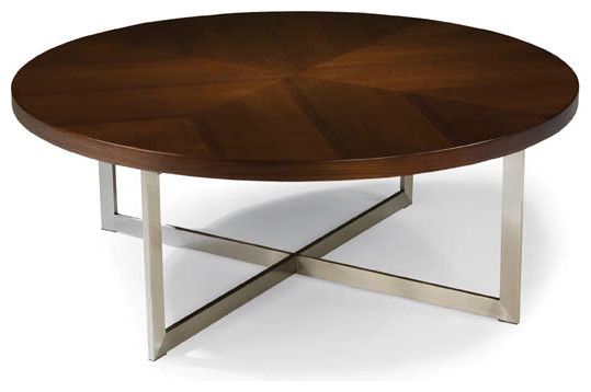 Export Round Cocktail Table From Thayer Coggin Modern Coffee Tables By Thayer Coggin