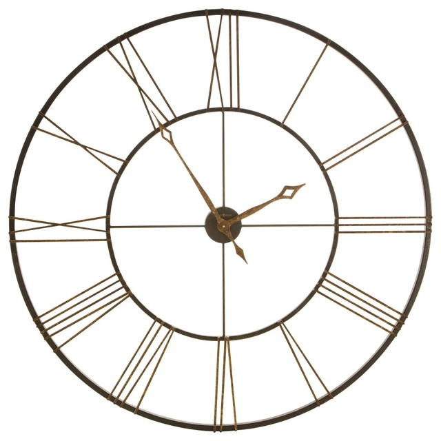 Wall Decor Clocks Modern : Quot decorative large wall clock contemporary