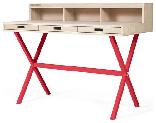 schreibtisch hyppolite modern schreibtische aufs tze other metro von das rote paket. Black Bedroom Furniture Sets. Home Design Ideas
