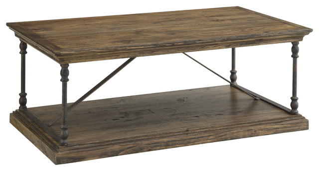 Cocktail Table Hylas Medium Brown Rustic Coffee Tables By Coast To Coast Imports Llc