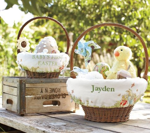 Peter Rabbit Easter Baskets Liners Contemporary