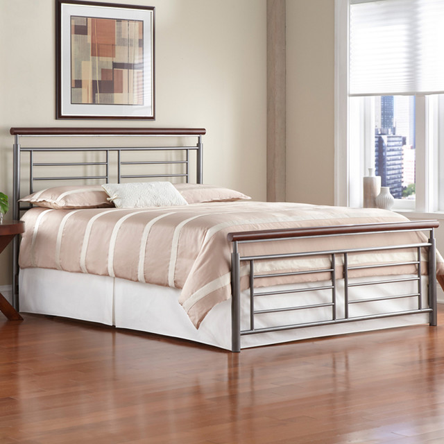 contemporary modern metal beds 2